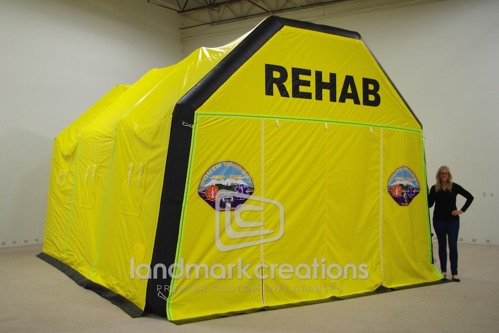 Rehab Tent South Whidbey