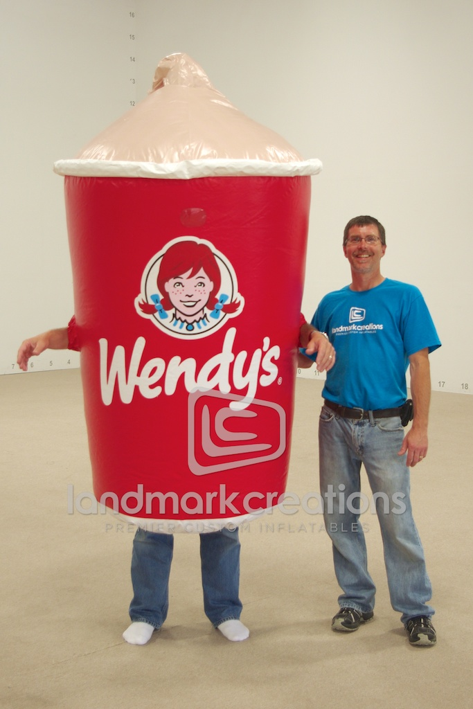 Wendy's Frosty Costume
