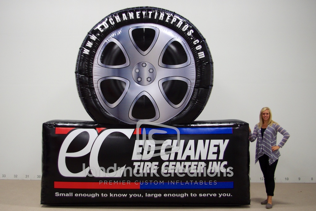 Ed Chaney Tire Logo