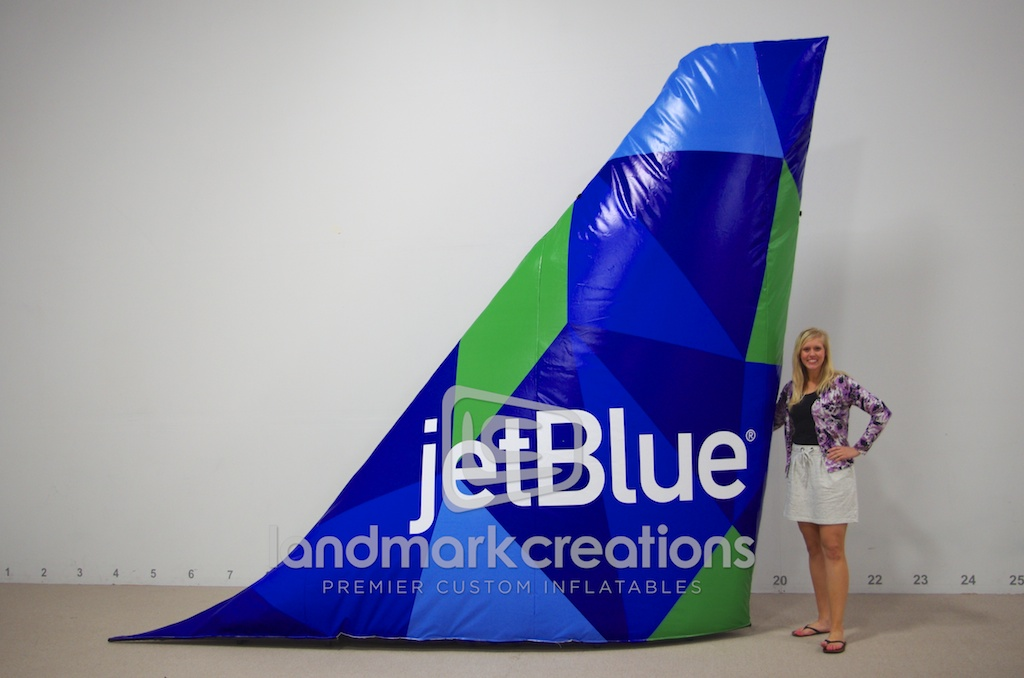 JetBlue Tail Fin