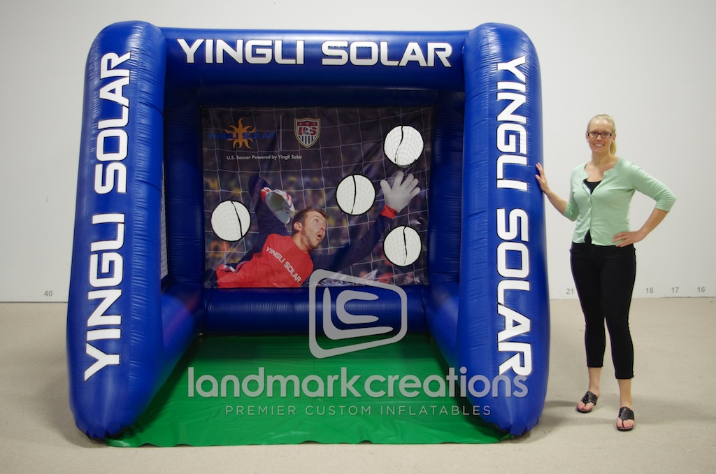Yingli Soccer Cage