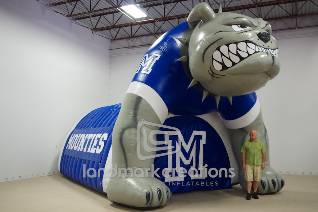 Montclair Bulldog Tunnel