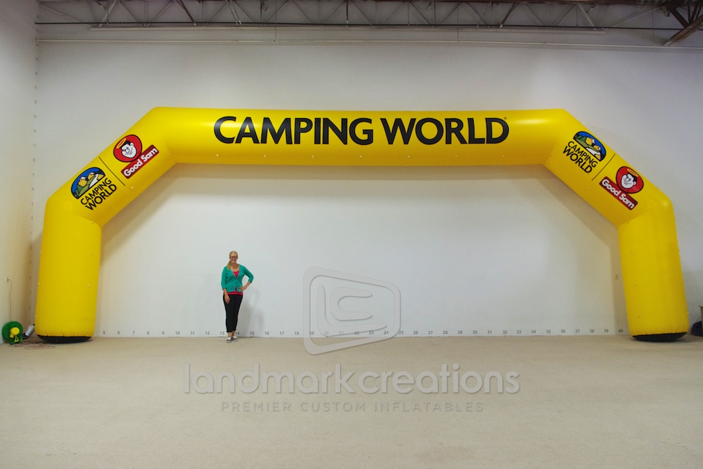 Camping World Arch