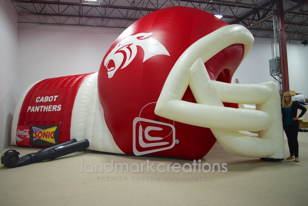 Cabot High Football Helmet