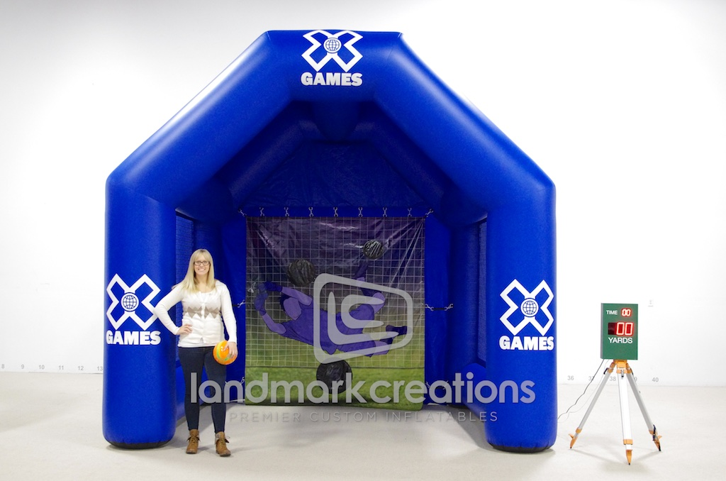 X Games Football Toss