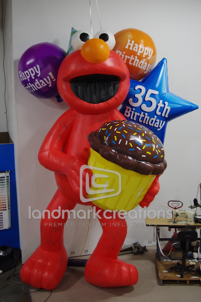 Elmo Birthday Character