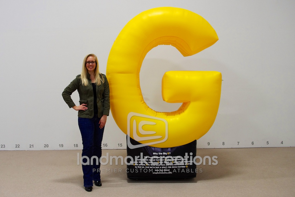 Letter G Display