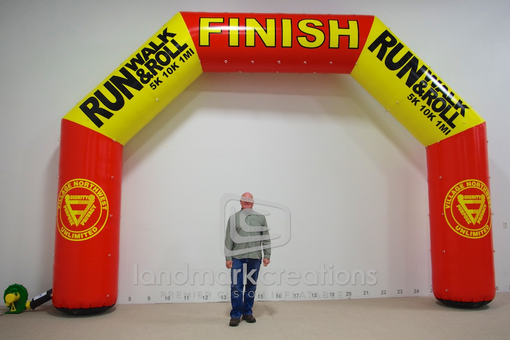 Run Walk & Roll Arch