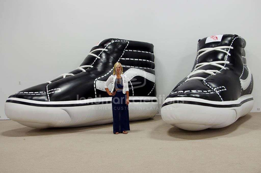 Vans Giant Inflatable Shoe Replica