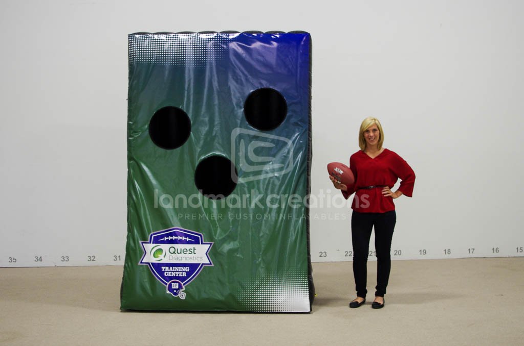 Quest Diagnostics Football Toss