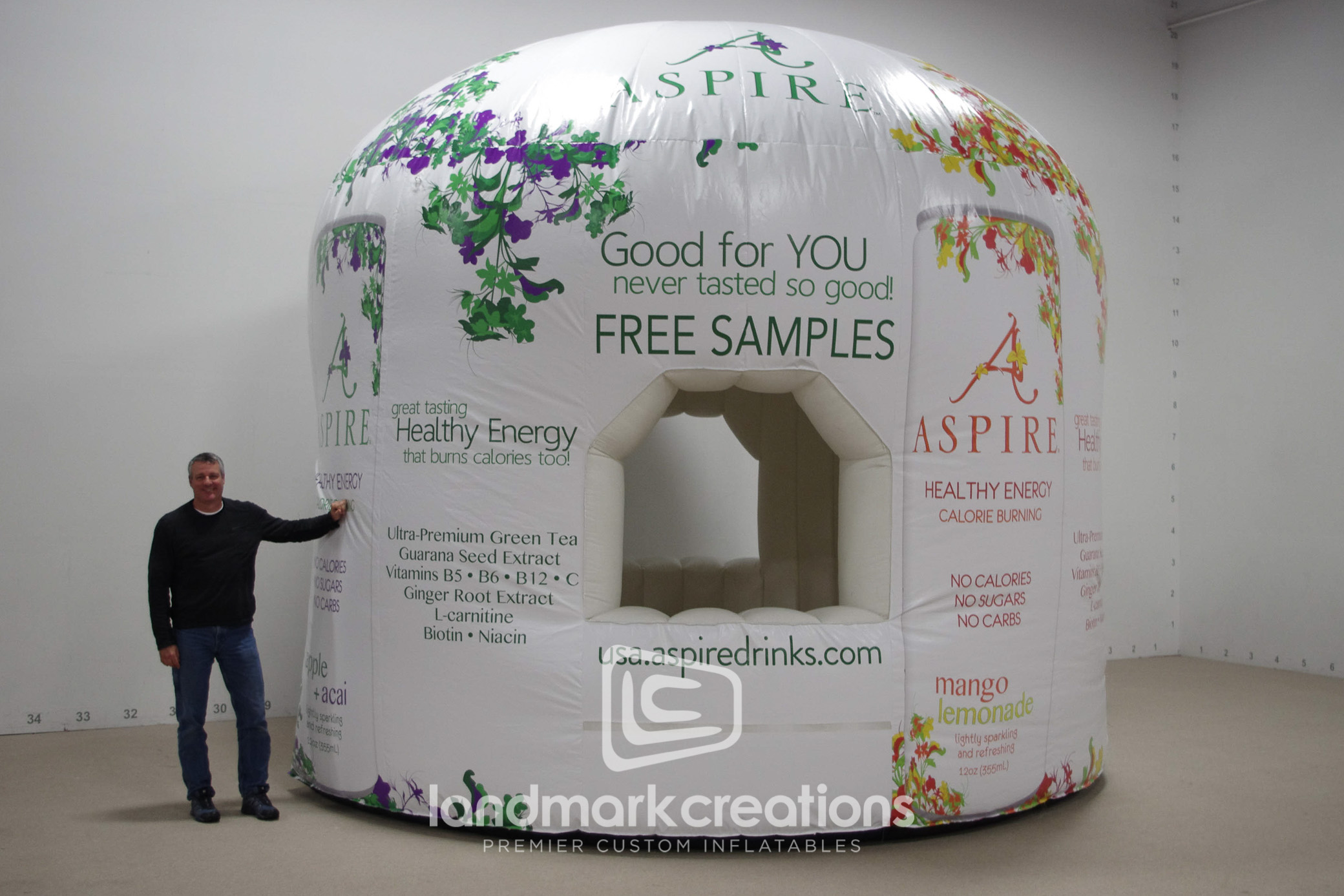 Aspire Sample Kiosk