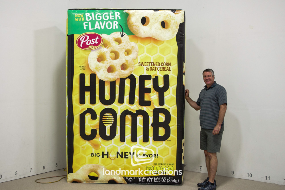 Honeycomb Cereal Box