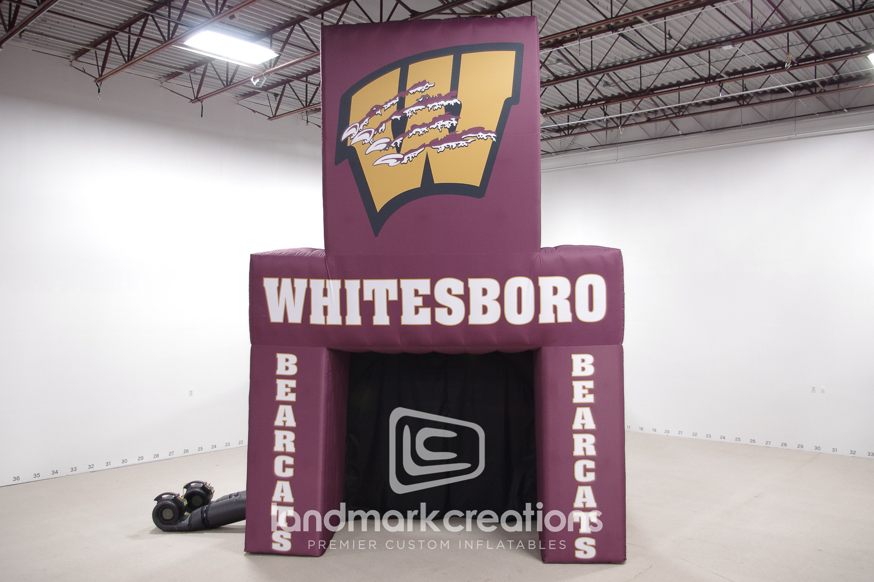 Whitesboro BearcatsTunnel