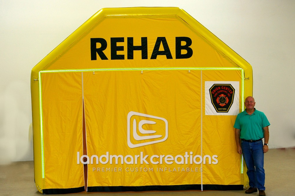 Union Center Rehab Tent