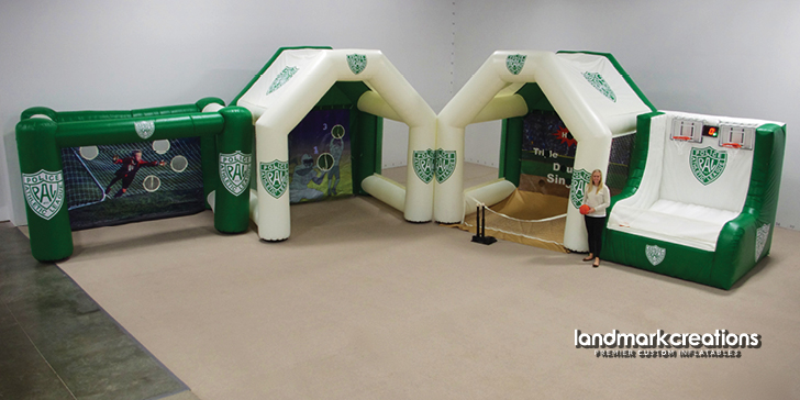 PAL Inflatable Sports Cages