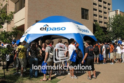 El Paso Inflatable AirTent at Community Event