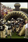 Purdue's Inflatable Football Tunnel