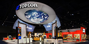 Topcon's Inflatable Trade Show Display