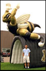 Inflatable Hornet Football Tunnel