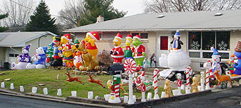 Holiday Yard Inflatables