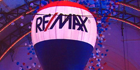 Re/Max Hot Air Shape at Corporate Event