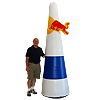 Inflatable Red Bull Pylon