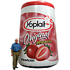 Inflatable Yoplait Yogurt Replica