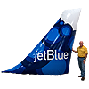 JetBlue Inflatable Airplane Wing