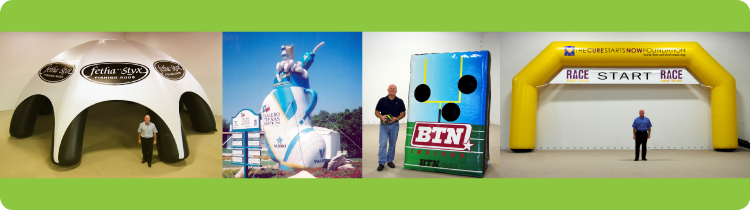 Custom Inflatables Used at Marketing Events