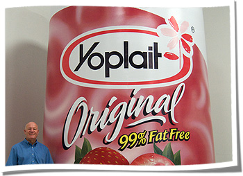Yoplait Inflatable Replica for Sponsorship Events