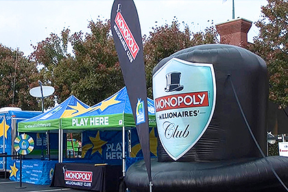 Inflatable Monopoly Hat