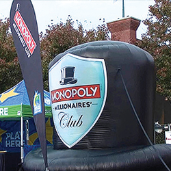 Monopoly Hat Inflatable