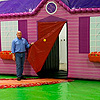 Inflatable House Stage Prop