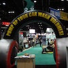 PDQ Inflatable Heaphones at Trade Show