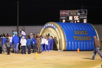 Inflatable Sports Tunnel for Bruce High School