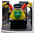Lady Gaga Inflatable Spider