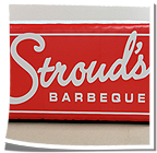 Stroud's Barbeque Inflatable Logo