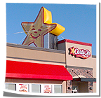 Carl's Jr Happy Star Inflatable
