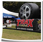 Trax Tires Inflatable