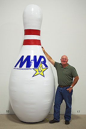 MWR Inflatable Bowling Pin