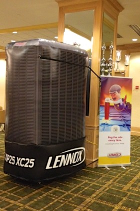 Inflatable Lennox AC Replica