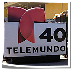 Inflatable TV Logo