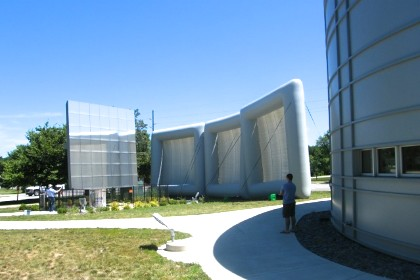 Valparaiso University's Inflatable Solar Screens