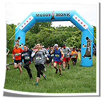 Muddy Monk Archway at Trail Run