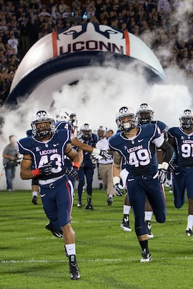 Inflatable UCONN Football Helmet