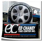 Ed Chaney Tire Billboard