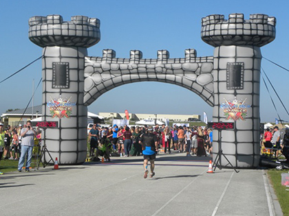 Inflatable Castle Archway