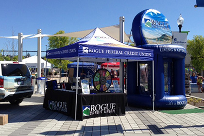 Rogue Credit Union Cash Booth