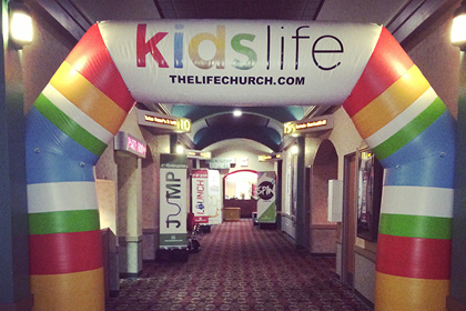 Kids Life Inflatable Archway