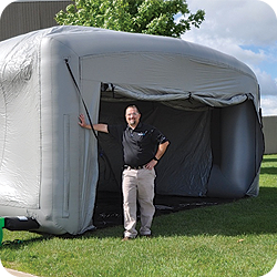Remediation Tent